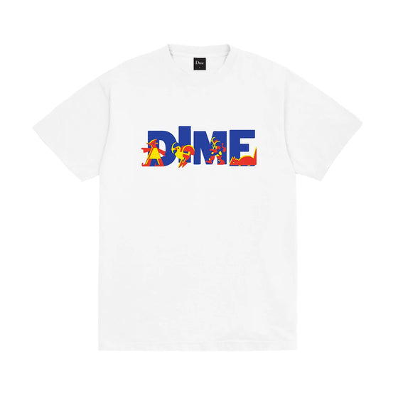 Dime Toy Store Tee White XLarge