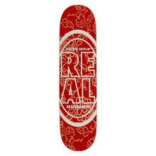 Real Stacked Oval Floral PP Deck 7.75