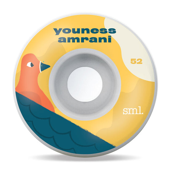 SML Youness Amrani Toonies OG Wide Wheels 99a 52mm