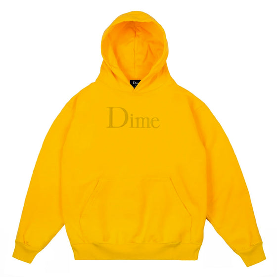 Dime Classic Hoodie Yellow Medium