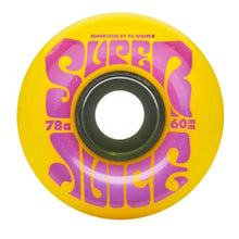 OJ Super Juice Yellow Cruiser Wheels 78a 60mm