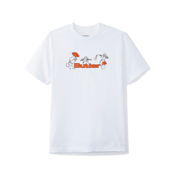 Butter Goods Mushrooms Tee White Medium