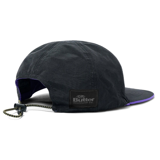Butter Goods Nylon Reversible Hat Purple/Black