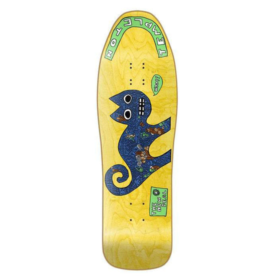 New Deal Templeton Cat SP 9.75 YELLOW