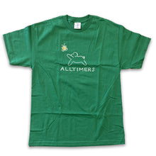 Alltimers Claire Dog Tee - Kelly Green - Large