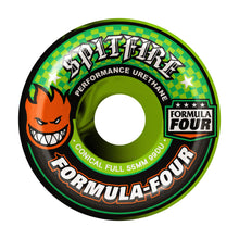 Spitfire Conical Full Swirl Green/Black - 99a - 53mm