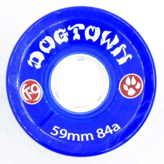 Dogtown K-9 Cruiser Wheels 84a - Blue - 59mm