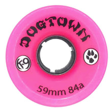 Dogtown K-9 Cruiser Wheels 84a - Pink - 59mm
