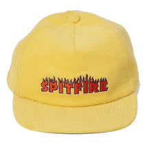 Spitfire Flash Fire Corduroy Snapback - Yellow