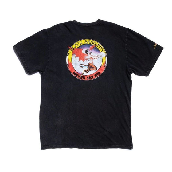 Lakai x Black Sabbath Never Say Die Premium Tee - Gunmetal - XL