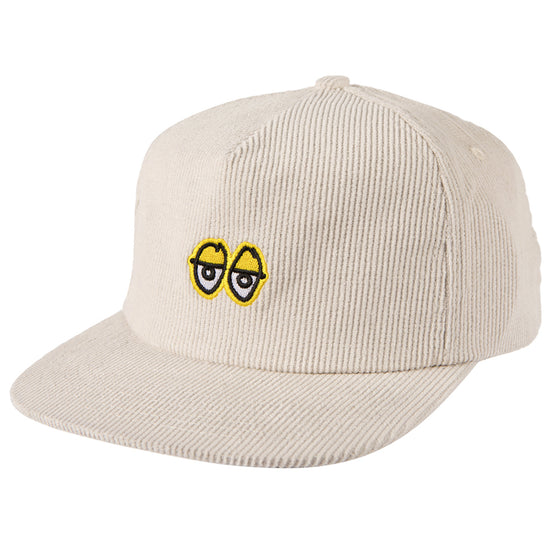 Krooked Eyes Snapback - White/Yellow