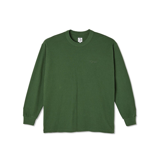 Polar Shin Long Sleeve Hunter Green Large