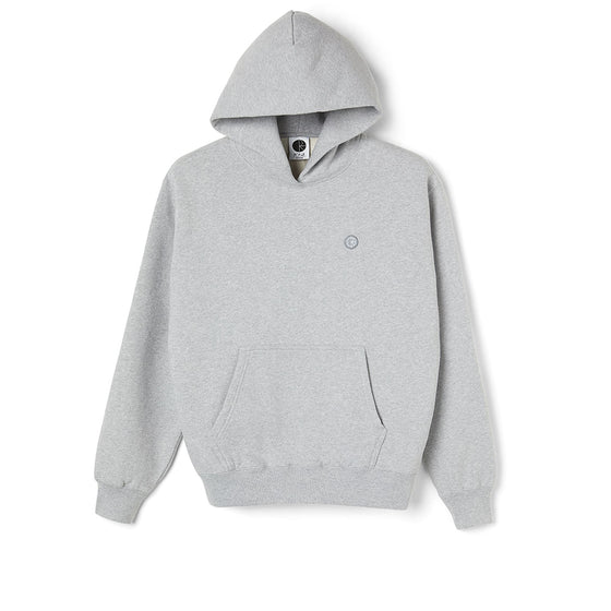 Polar Patch Hoodie Sports Grey Medium