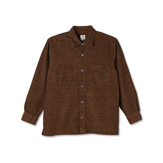 Polar Cord Shirt Caramel Large