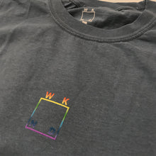 WKND Rainbow Logo Blue Bay Tee (Large)