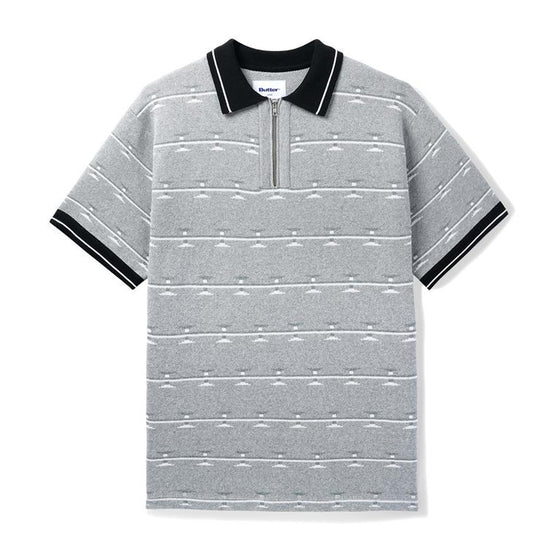 Butter Goods Razor Zip Polo Large