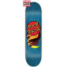 Santa Cruz Group Dot Hard Rock Deck 8.125