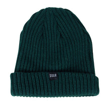Sour Solutions Sweeper Beanie - Forest Green