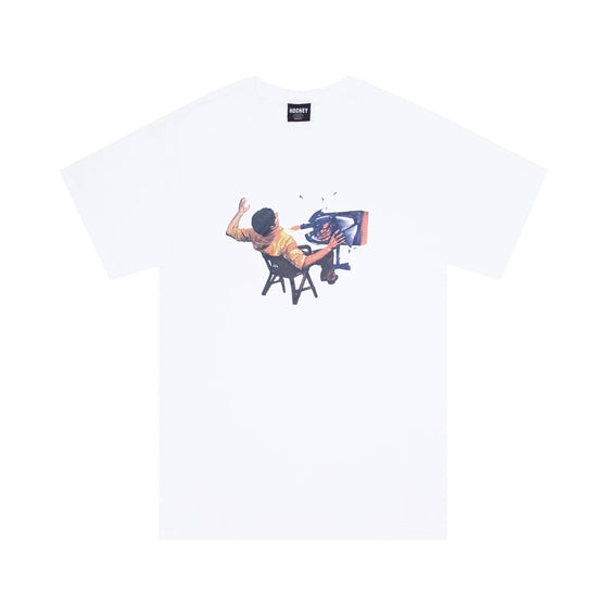 Hockey Ultraviolence Tee - White - XL
