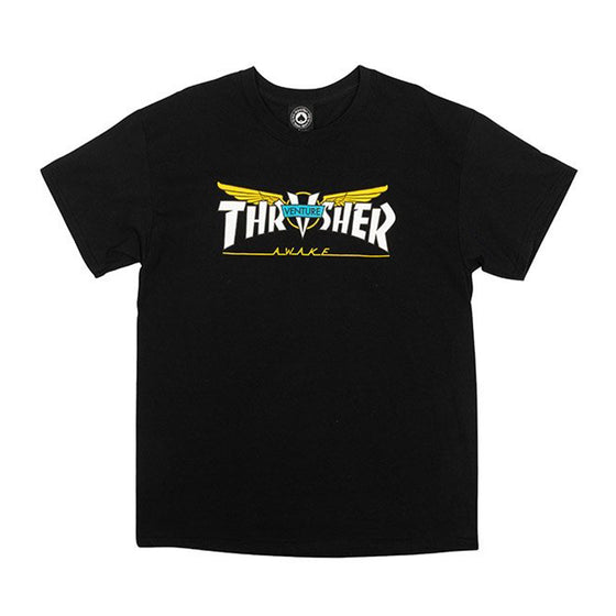 Thrasher Venture Collab Tee Black