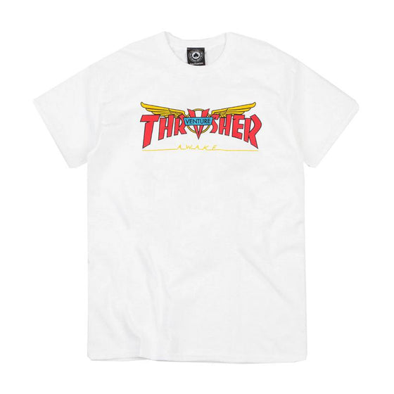 Thrasher Venture Collab Tee White