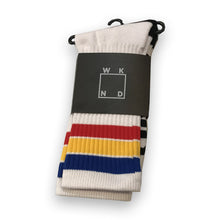 WKND Stripe Socks (White)