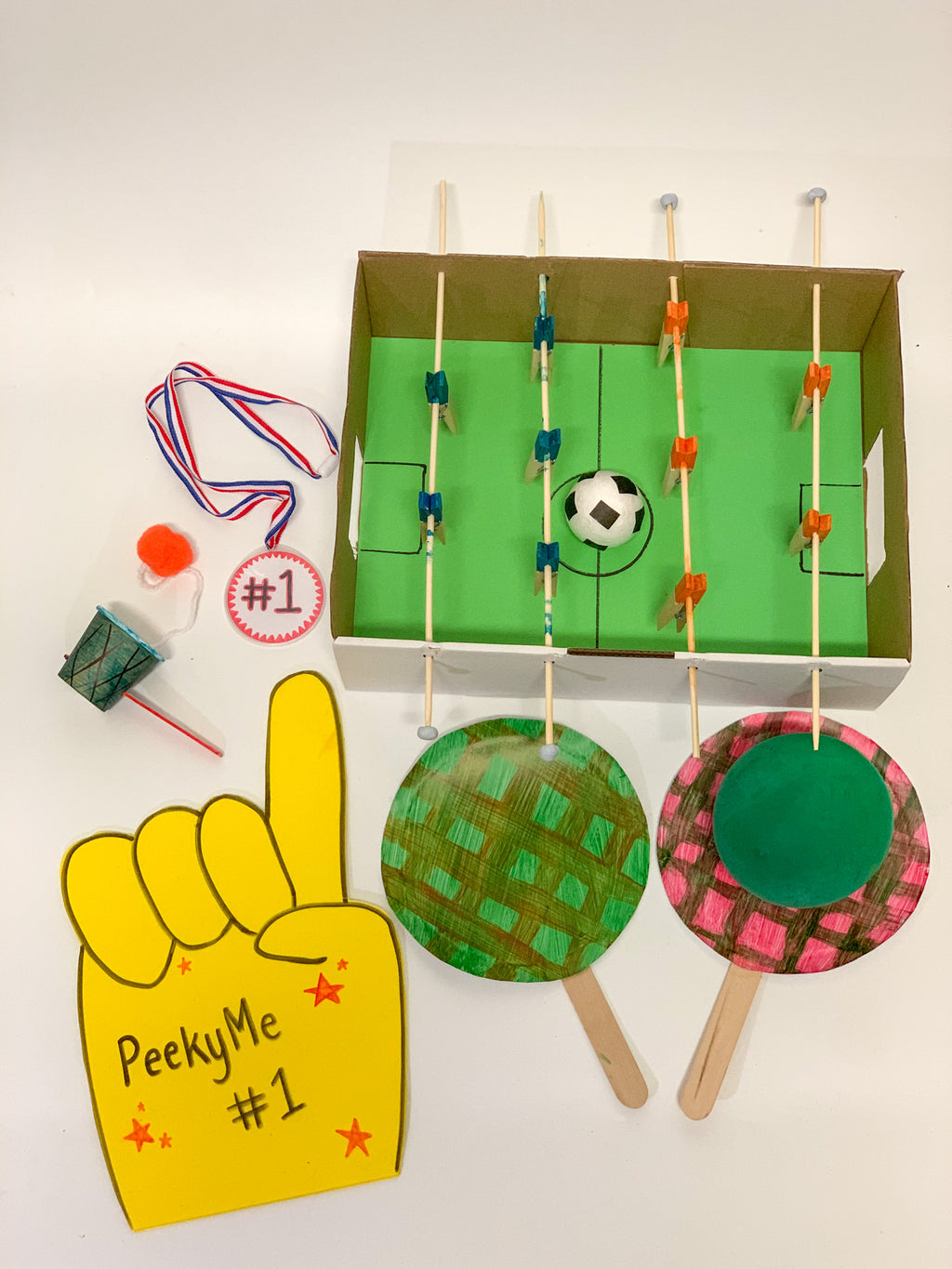 Sports Box - PeekyMe Junior Creators