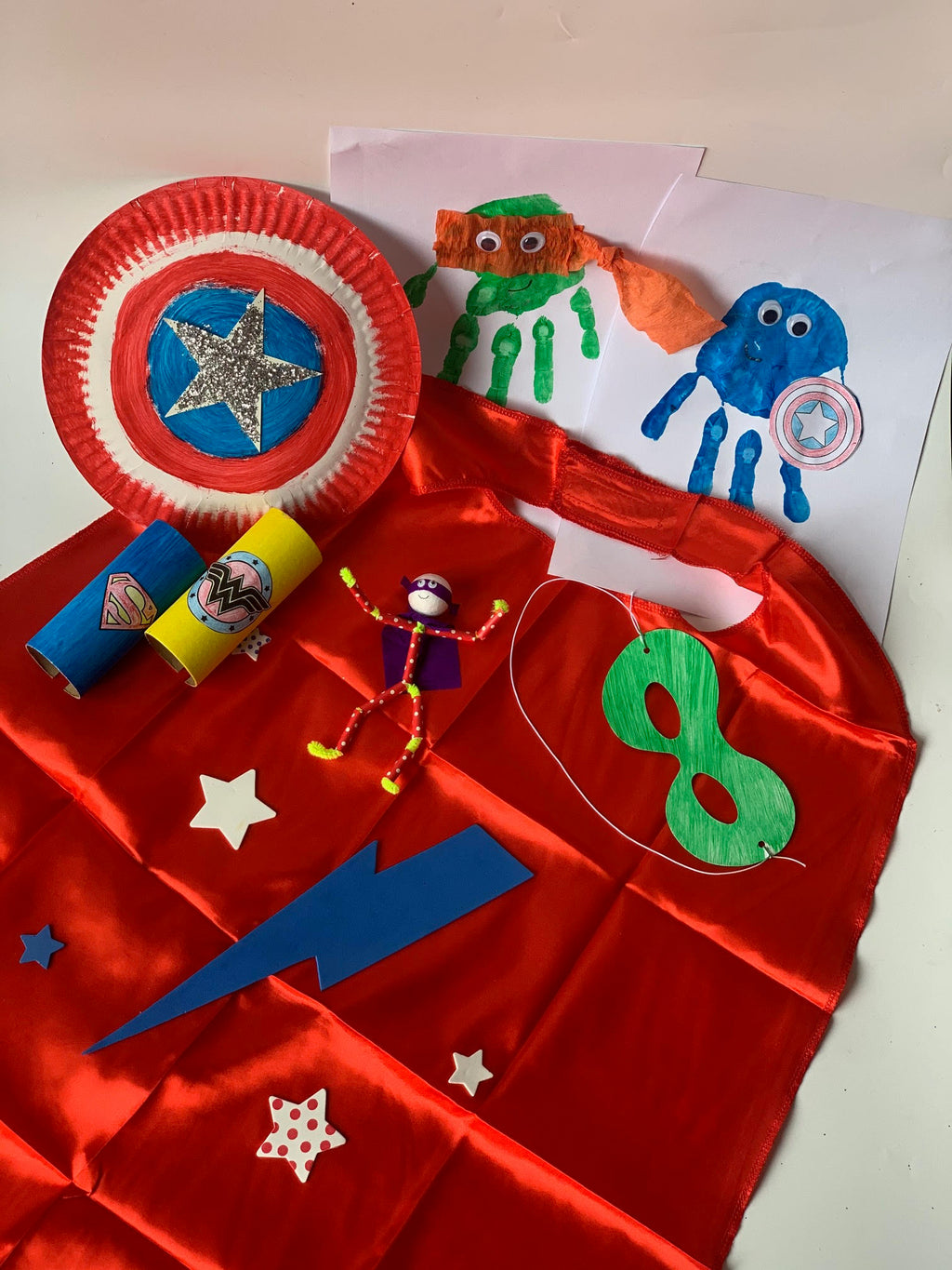 Superhero Craft Box - Junior Creators