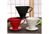 Coffee Dripper V60 - Ceramic - Drink Lab