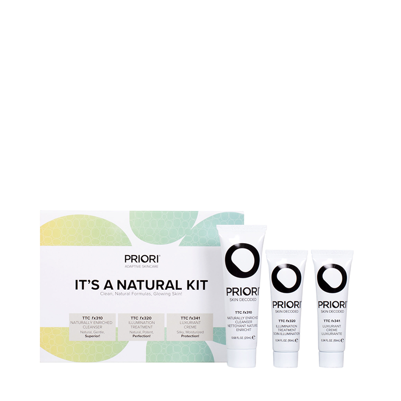 It's A Natural Kit Gift Sets PRIORI The Skin Experts