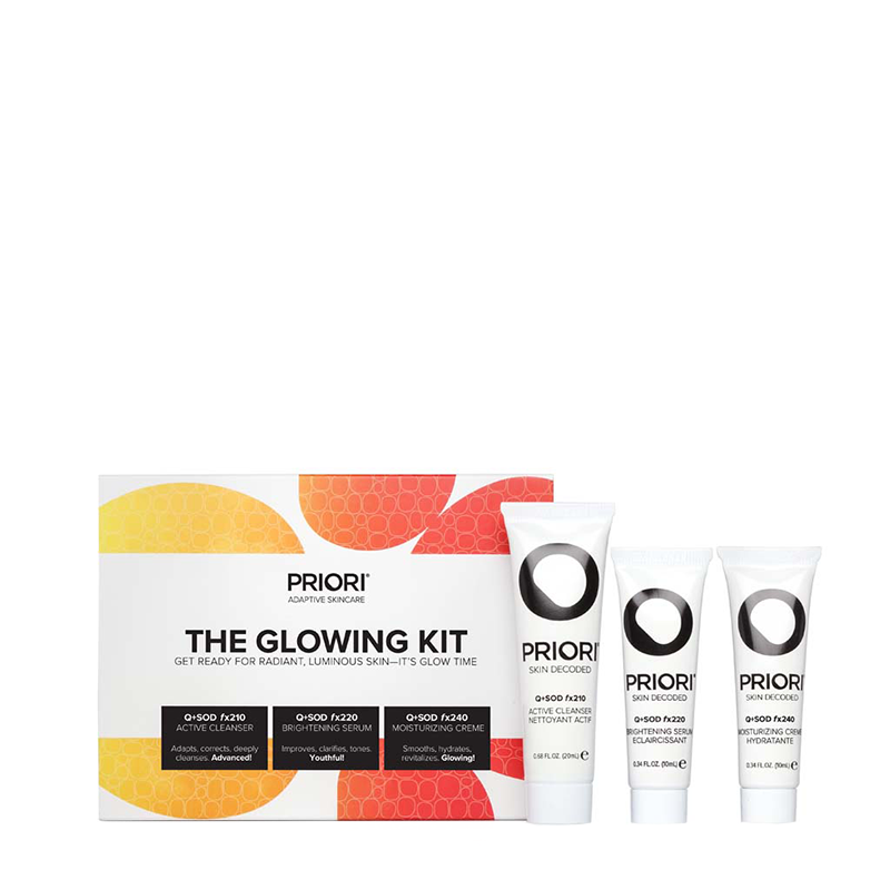 The Glowing Kit Gift Sets PRIORI The Skin Experts