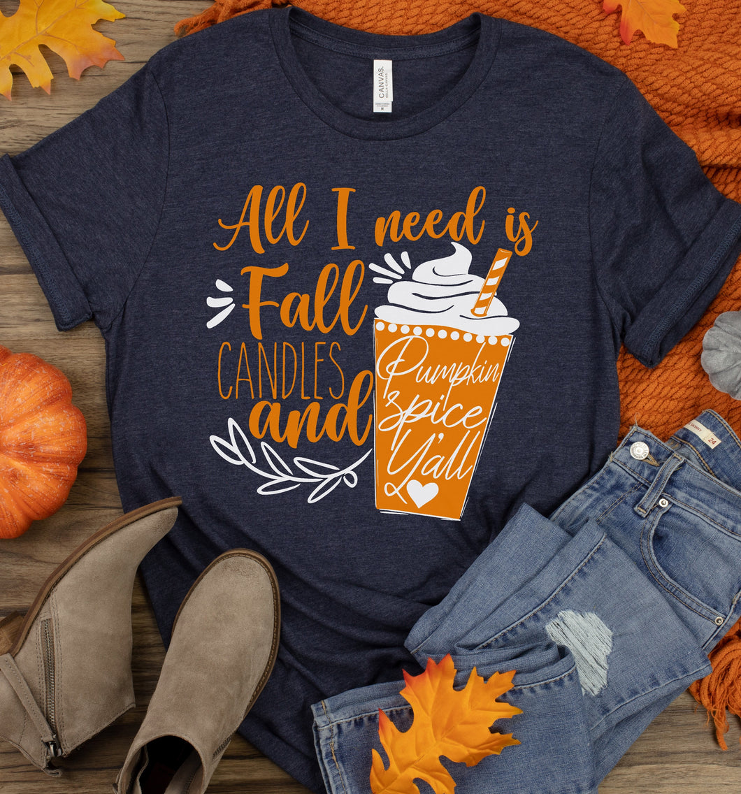 Fall, Candles, and Pumpkin Spice