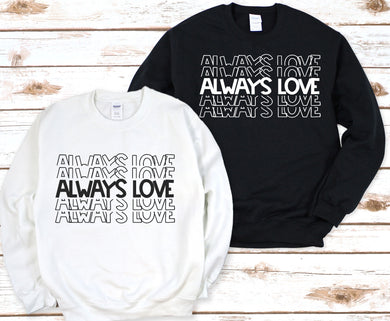 RTS 01/23- Always Love Stacked