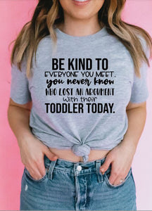 Be Kind Toddler