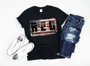 RED Flag- Distressed