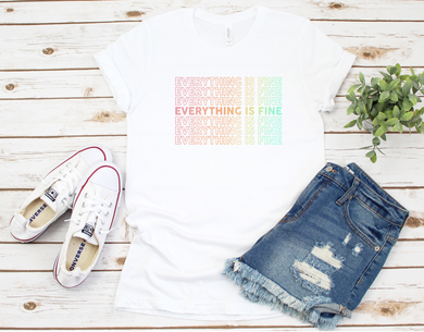 Everything is Fine Rainbow