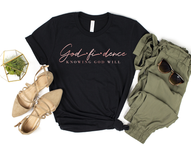 Godfidence Black and Rose Gold