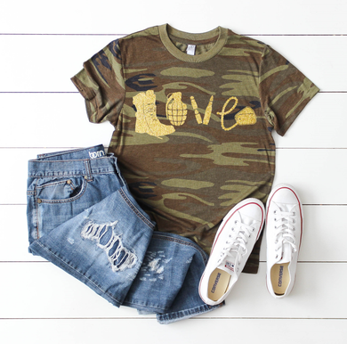Metallic Military Love