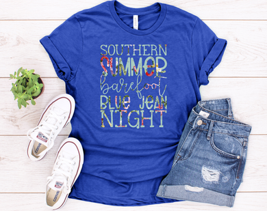 Southern Summer Nights and Barefoot