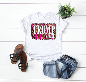 Trump 2020 Pink and Leopard