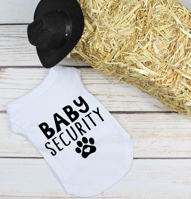 Baby Security- White and black