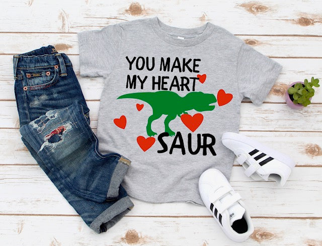 You make my heart Saur- youth