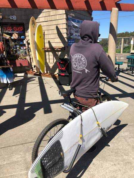 Bodega Bay Surf Shack - Surfboard Bike Racks