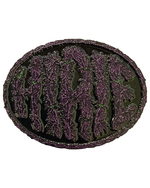 Limited Edition Weed Pin (Purple & Black)