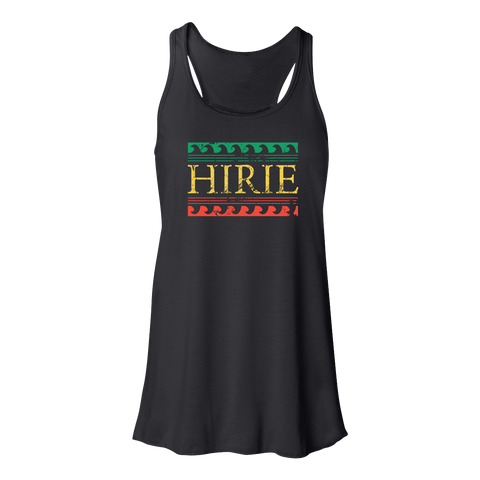 Women's Rasta Wave Tank