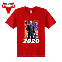 Trump 2020 graphic design T shirt Re-election advertising poster T-shirt President election Tshirt Cheap made in China free ship - Trump 2020 Tees