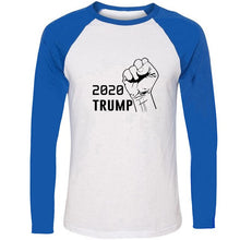 Load image into Gallery viewer, 2020 TRUMP Victory Print Tshirts Mens Political Election Campaign Graphic Long-Sleeve Tee America Flag Clothes Power Shirts Tops - Trump 2020 Tees