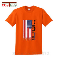 I'm voting Trump For President 2020 T shirts Vintage USA Flag T-shirt President Election advertising Tshirt cheap China Clothing - Trump 2020 Tees