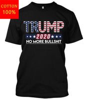 Donald Trump 2020 No More Bullshit Maga Political 2Nd Amendment Liberal TShirt - Trump 2020 Tees