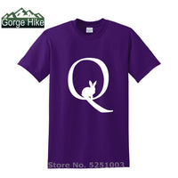 Men T Shirt Qanon Wwg1wga Q Anon TShirt Great Awakening White Rabbit Q Army Anons Quotes Qanon 4chan unisex T-Shirt top male tee - Trump 2020 Tees